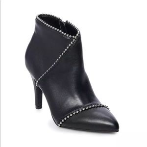 Apt. 9 Late High Heel Ankle Boots Black US Size 9